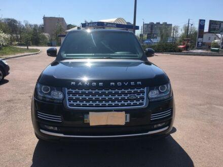 Чорний Ленд Ровер Range Rover, об'ємом двигуна 3 л та пробігом 160 тис. км за 56000 $, фото 1 на Automoto.ua