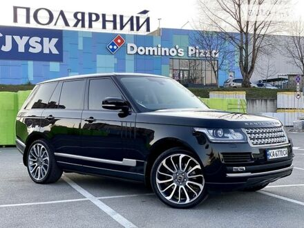 Чорний Ленд Ровер Range Rover, об'ємом двигуна 3 л та пробігом 131 тис. км за 57950 $, фото 1 на Automoto.ua