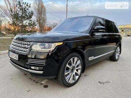Чорний Ленд Ровер Range Rover, об'ємом двигуна 4.4 л та пробігом 120 тис. км за 77500 $, фото 1 на Automoto.ua