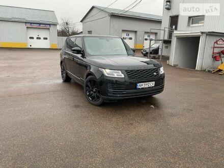 Чорний Ленд Ровер Range Rover, об'ємом двигуна 3 л та пробігом 28 тис. км за 99999 $, фото 1 на Automoto.ua