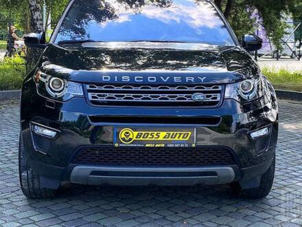 Чорний Ленд Ровер Discovery Sport, об'ємом двигуна 2 л та пробігом 22 тис. км за 37999 $, фото 1 на Automoto.ua