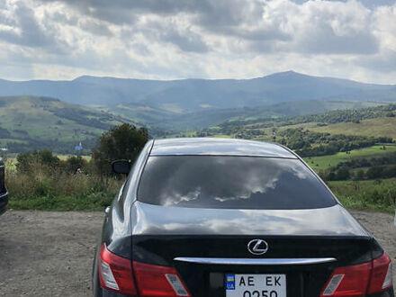 Черный Лексус ЕС, объемом двигателя 3.5 л и пробегом 234 тыс. км за 11500 $, фото 1 на Automoto.ua