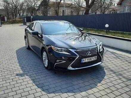 Черный Лексус ЕС, объемом двигателя 3.5 л и пробегом 160 тыс. км за 23000 $, фото 1 на Automoto.ua