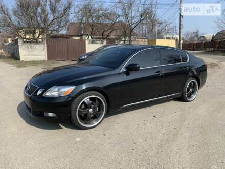 Чорний Лексус ГС, об'ємом двигуна 3 л та пробігом 144 тис. км за 11950 $, фото 1 на Automoto.ua