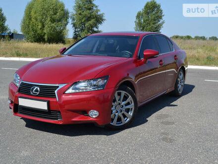 Красный Лексус ГС, объемом двигателя 3.5 л и пробегом 91 тыс. км за 25500 $, фото 1 на Automoto.ua