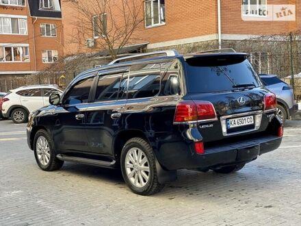 Черный Лексус ЛХ, объемом двигателя 5.7 л и пробегом 171 тыс. км за 34900 $, фото 1 на Automoto.ua