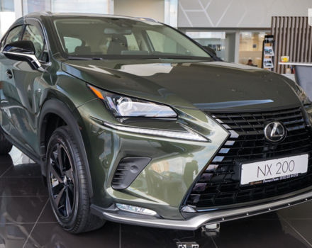 купити нове авто Лексус НХ 2021 року від офіційного дилера Лексус Львів Лексус фото