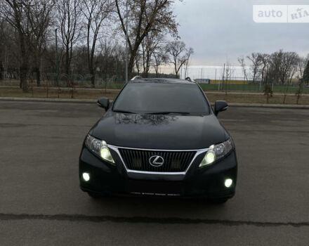 Черный Лексус РХ, объемом двигателя 3.5 л и пробегом 120 тыс. км за 21500 $, фото 1 на Automoto.ua