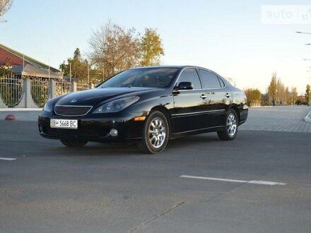 Черный Лексус ES 300, объемом двигателя 3 л и пробегом 200 тыс. км за 9500 $, фото 1 на Automoto.ua