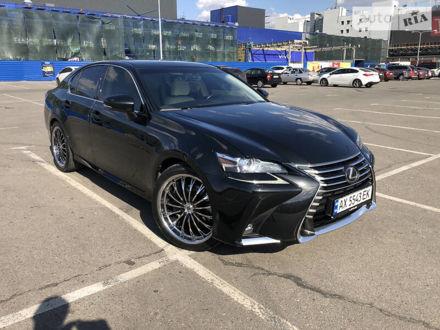 Черный Лексус GS 200t, объемом двигателя 2 л и пробегом 65 тыс. км за 37000 $, фото 1 на Automoto.ua