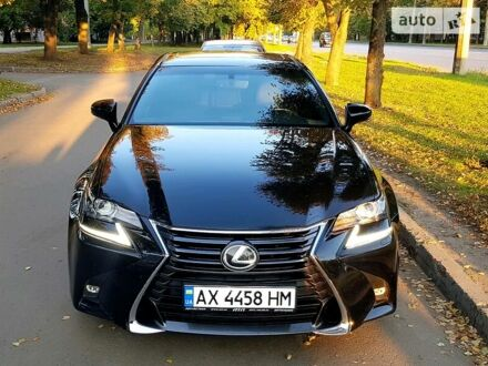 Чорний Лексус GS 200t, об'ємом двигуна 2 л та пробігом 59 тис. км за 24400 $, фото 1 на Automoto.ua