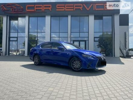 Синій Лексус GS 200t, об'ємом двигуна 2 л та пробігом 100 тис. км за 31500 $, фото 1 на Automoto.ua