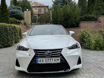 Белый Лексус IS 200t, объемом двигателя 2 л и пробегом 50 тыс. км за 27000 $, фото 1 на Automoto.ua