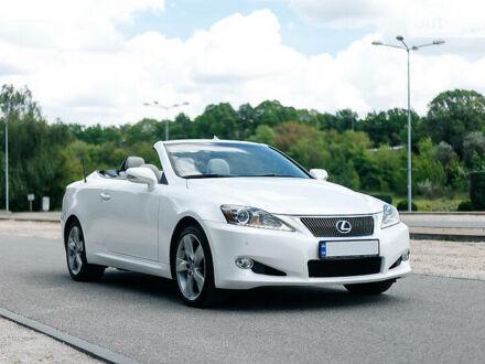 Белый Лексус IS 350, объемом двигателя 4 л и пробегом 49 тыс. км за 23000 $, фото 1 на Automoto.ua