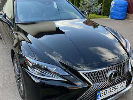 Черный Лексус LS 500, объемом двигателя 3.4 л и пробегом 76 тыс. км за 68500 $, фото 1 на Automoto.ua