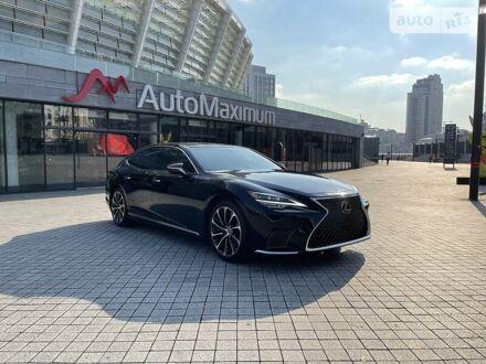 Черный Лексус LS 500, объемом двигателя 3.5 л и пробегом 2 тыс. км за 169999 $, фото 1 на Automoto.ua
