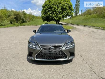 Серый Лексус LS 500, объемом двигателя 3.4 л и пробегом 8 тыс. км за 74000 $, фото 1 на Automoto.ua