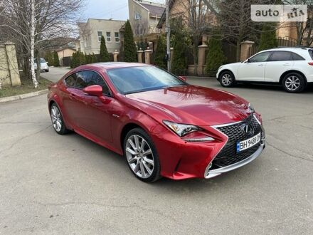 Червоний Лексус RC 350, об'ємом двигуна 3.5 л та пробігом 74 тис. км за 25555 $, фото 1 на Automoto.ua
