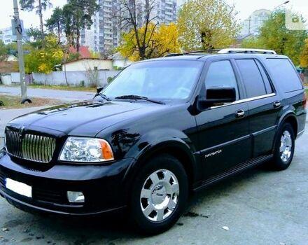 Черный Линкольн Навигатор, объемом двигателя 5.4 л и пробегом 150 тыс. км за 21000 $, фото 1 на Automoto.ua