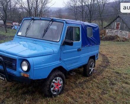 Голубий ЛуАЗ 969, об'ємом двигуна 1.2 л та пробігом 12 тис. км за 900 $, фото 1 на Automoto.ua