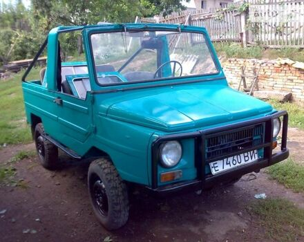 Зеленый ЛуАЗ 969, объемом двигателя 1.2 л и пробегом 60 тыс. км за 1300 $, фото 1 на Automoto.ua