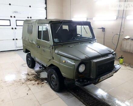 Зеленый ЛуАЗ 969, объемом двигателя 1.6 л и пробегом 18 тыс. км за 1500 $, фото 1 на Automoto.ua