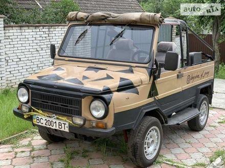 Коричневый ЛуАЗ 969М, объемом двигателя 1.2 л и пробегом 65 тыс. км за 1493 $, фото 1 на Automoto.ua