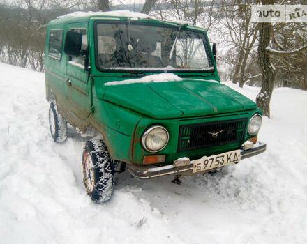 Зеленый ЛуАЗ 969М, объемом двигателя 1.2 л и пробегом 1 тыс. км за 800 $, фото 1 на Automoto.ua