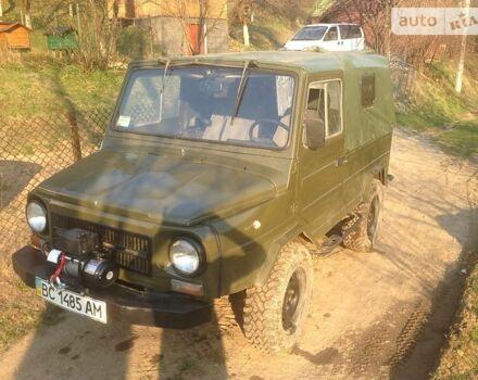 Зеленый ЛуАЗ 969М, объемом двигателя 1.6 л и пробегом 42 тыс. км за 2200 $, фото 1 на Automoto.ua