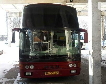 Красный МАН 11.190, объемом двигателя 6.87 л и пробегом 420 тыс. км за 15500 $, фото 1 на Automoto.ua