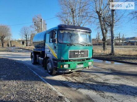 Зеленый МАН 18.403, объемом двигателя 12 л и пробегом 50 тыс. км за 17399 $, фото 1 на Automoto.ua