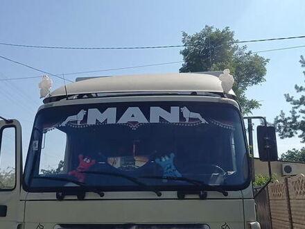 Белый МАН 19.414, объемом двигателя 12 л и пробегом 177 тыс. км за 12500 $, фото 1 на Automoto.ua