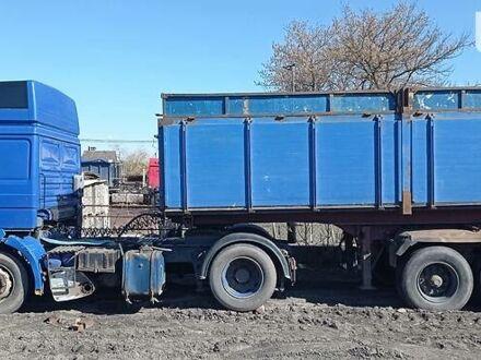 Синий МАН 19.463, объемом двигателя 13 л и пробегом 10 тыс. км за 9200 $, фото 1 на Automoto.ua