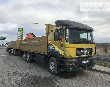 Оранжевый МАН 26.410, объемом двигателя 0 л и пробегом 100 тыс. км за 34000 $, фото 1 на Automoto.ua