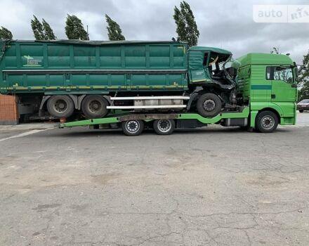 Зеленый МАН ТГА, объемом двигателя 11 л и пробегом 890 тыс. км за 76000 $, фото 1 на Automoto.ua