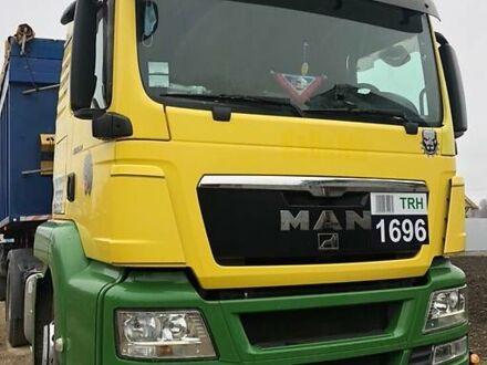 Желтый МАН ТГС, объемом двигателя 11 л и пробегом 800 тыс. км за 18000 $, фото 1 на Automoto.ua