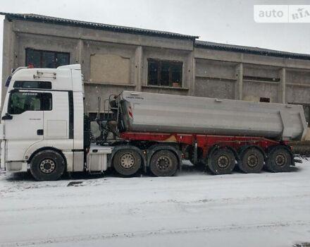Белый МАН ТГКС, объемом двигателя 12 л и пробегом 727 тыс. км за 49457 $, фото 1 на Automoto.ua