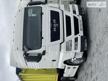 Белый МАН ТГКС, объемом двигателя 12 л и пробегом 870 тыс. км за 23500 $, фото 1 на Automoto.ua