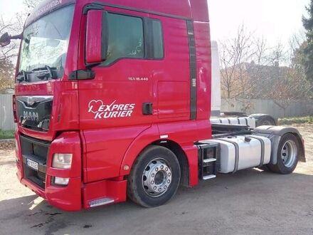 Красный МАН ТГКС, объемом двигателя 12 л и пробегом 10 тыс. км за 35000 $, фото 1 на Automoto.ua