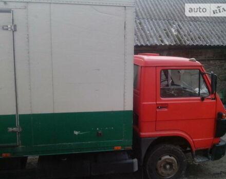 Червоний МАН-Фольксваген 8-150, об'ємом двигуна 6 л та пробігом 350 тис. км за 4500 $, фото 1 на Automoto.ua