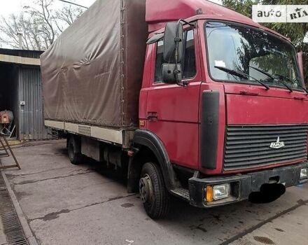 Красный МАЗ 437041, объемом двигателя 4.8 л и пробегом 250 тыс. км за 6300 $, фото 1 на Automoto.ua