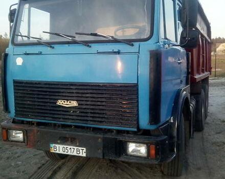 Синий МАЗ 5516, объемом двигателя 15 л и пробегом 55 тыс. км за 13800 $, фото 1 на Automoto.ua
