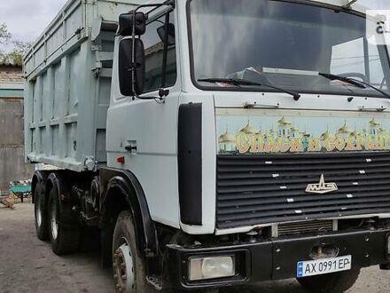 Белый МАЗ 551605, объемом двигателя 15 л и пробегом 100 тыс. км за 22500 $, фото 1 на Automoto.ua