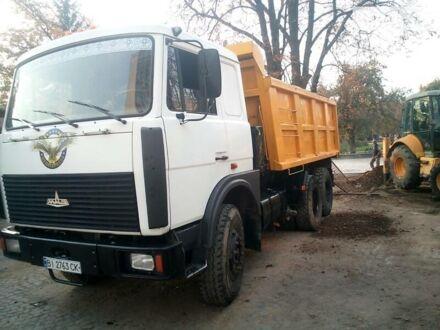 Белый МАЗ 551605, объемом двигателя 14.86 л и пробегом 130 тыс. км за 22000 $, фото 1 на Automoto.ua