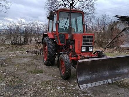 Красный МТЗ 80 Беларус, объемом двигателя 0 л и пробегом 1 тыс. км за 8200 $, фото 1 на Automoto.ua