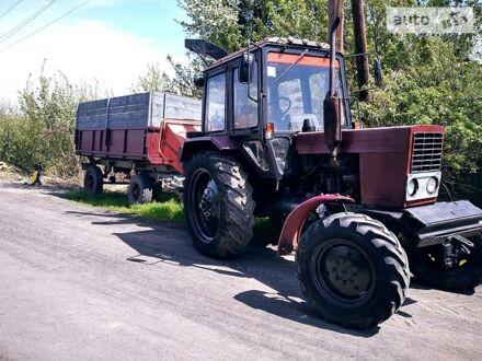 Красный МТЗ 82.2 Беларус, объемом двигателя 4.7 л и пробегом 10 тыс. км за 14000 $, фото 1 на Automoto.ua