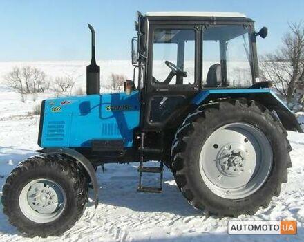 Синій МТЗ 892 Бєларус, об'ємом двигуна 92 л та пробігом 0 тис. км за 11350 $, фото 1 на Automoto.ua