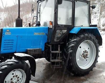 Синій МТЗ 920 Білорус, об'ємом двигуна 5 л та пробігом 2 тис. км за 0 $, фото 1 на Automoto.ua