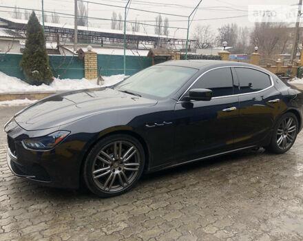 Черный Мазерати Гибли, объемом двигателя 3 л и пробегом 48 тыс. км за 33000 $, фото 1 на Automoto.ua