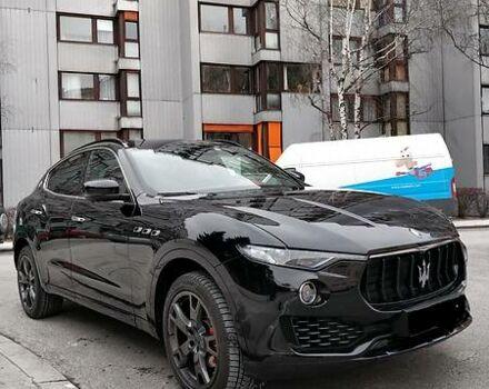 Черный Мазерати Леванте, объемом двигателя 3 л и пробегом 4 тыс. км за 119000 $, фото 1 на Automoto.ua